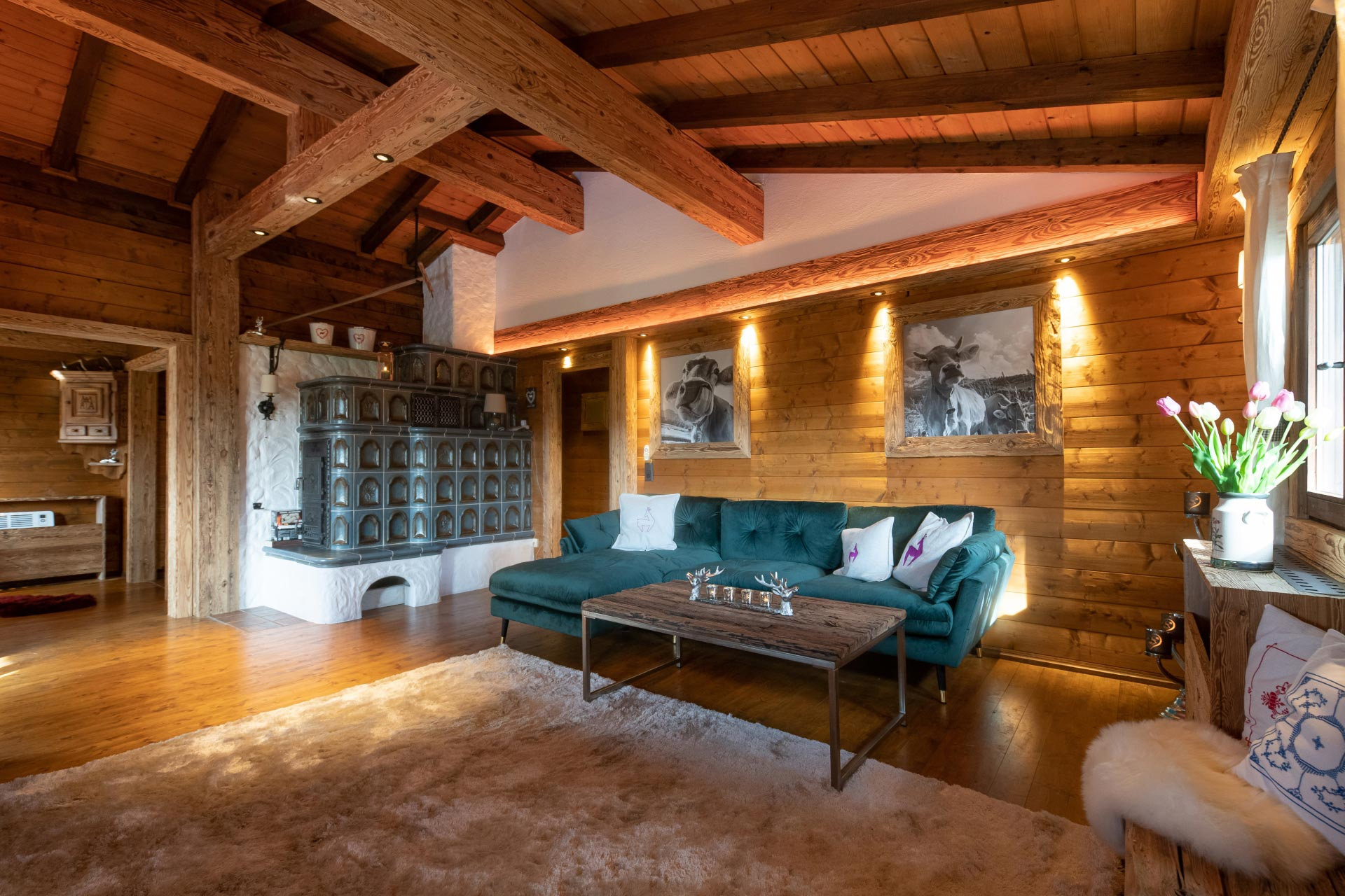 Chalet-Tirolia - Innenraum Stella Alpine